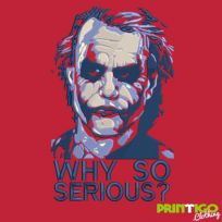 Why So Serious? Hoodie Embroidered